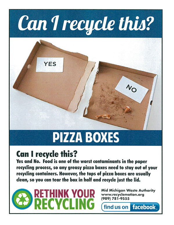 recycle pizzaboxes